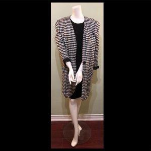 Vintage Leslie Fay 3/4 length blazer